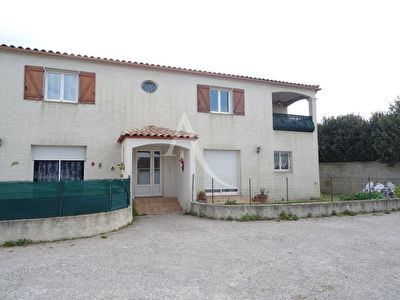 Proche NARBONNE à VINASSAN, Appartement 75m² -  2 chambres, terrasse, garage + PARKING